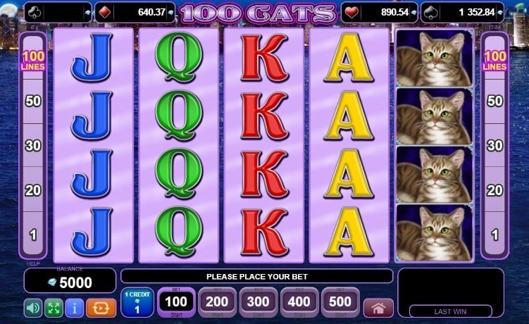 100 Cats Slot Review