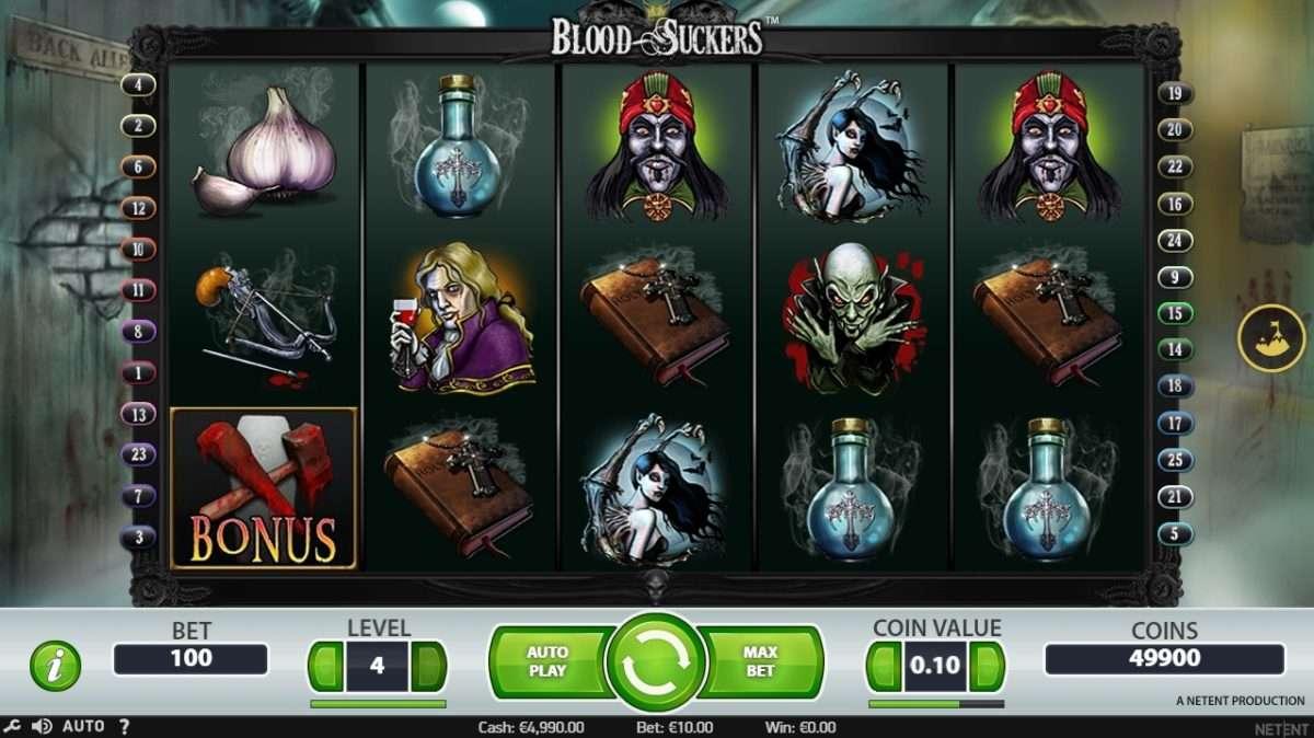 Blood Suckers Slot arvostelu