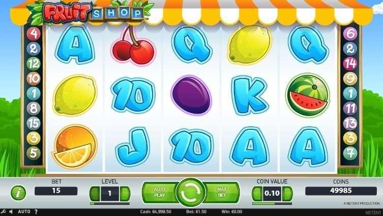 Fruit Shop Slot arvostelu