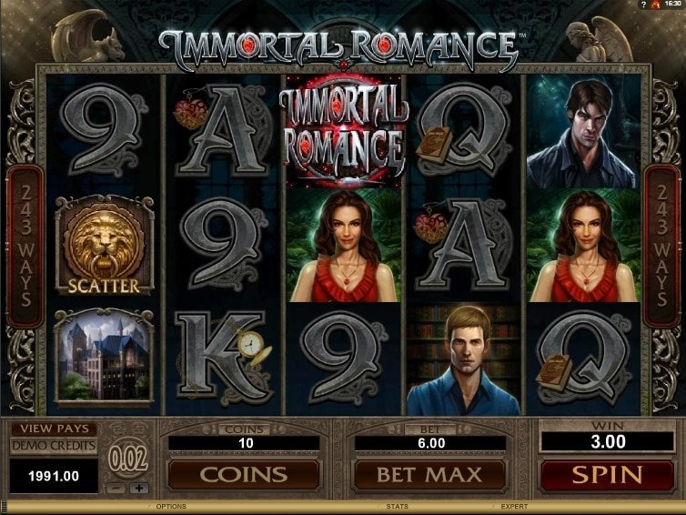 Immortal Romance Slot arvostelu