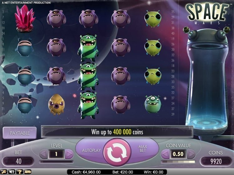 Space War Slot Review