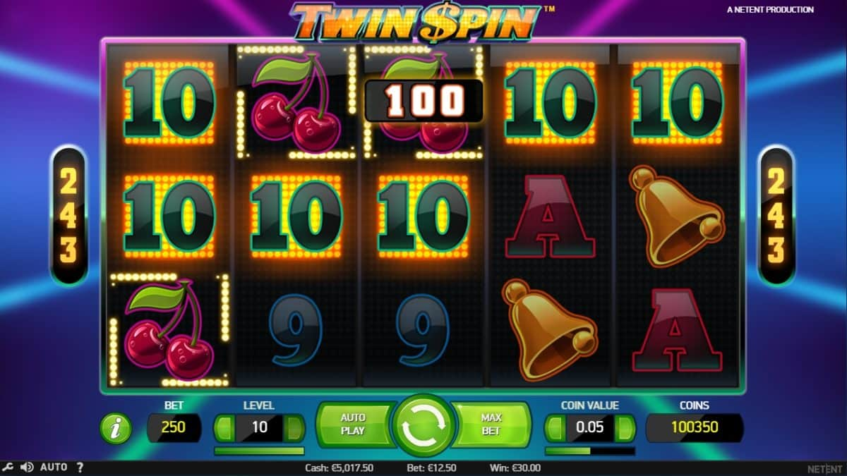 Twin Spin Slot arvostelu