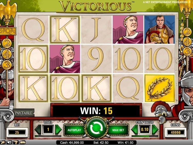 Victorious Slot Review