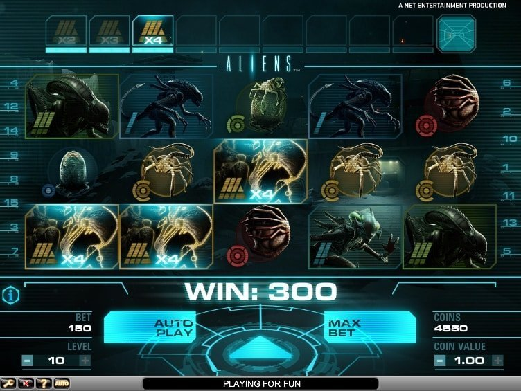 Aliens Slot Review