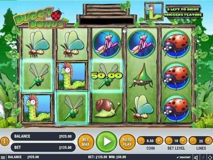 Buggy Bonus Slot