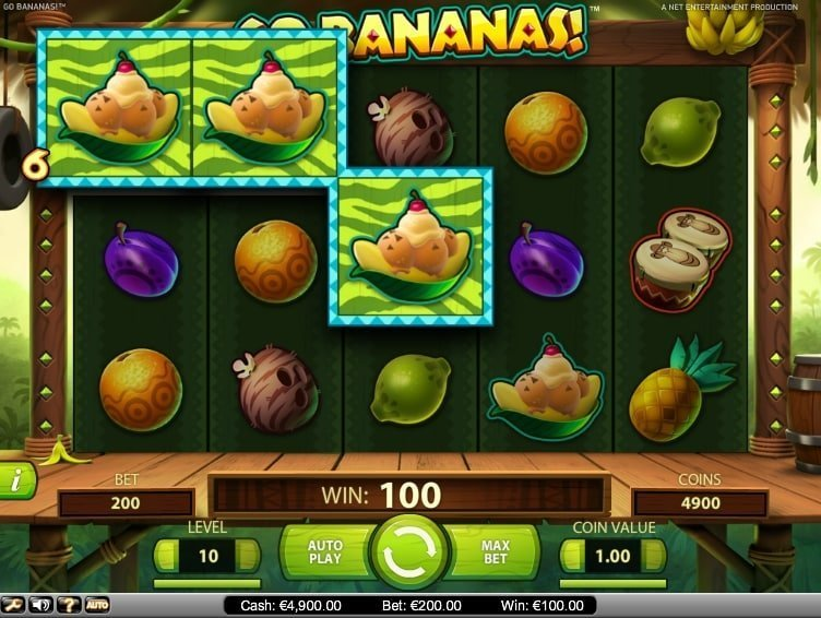 Go Bananas! Slot Review
