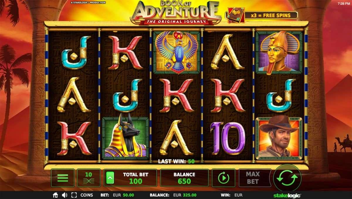 Book of Adventure Slot arvostelu
