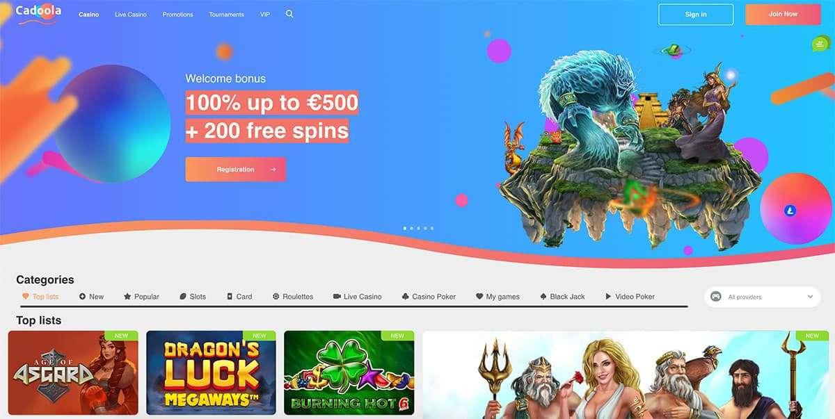 Cadoola Casino Review