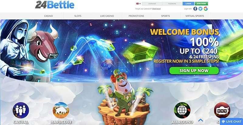 24Bettle Casino arvostelu
