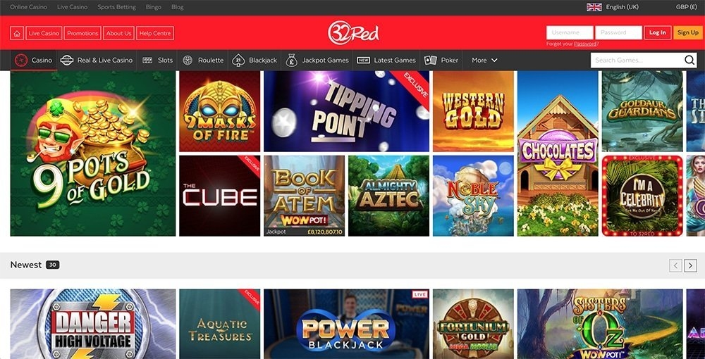 32Red Casino arvostelu