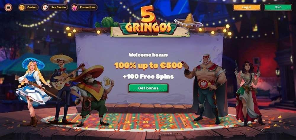 5Gringos Casino arvostelu