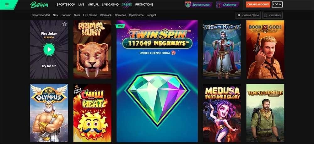 Betinia Online Casino
