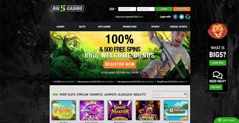 Bi5 Casino Review