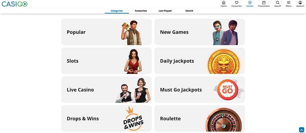 CasiGO Casino Games