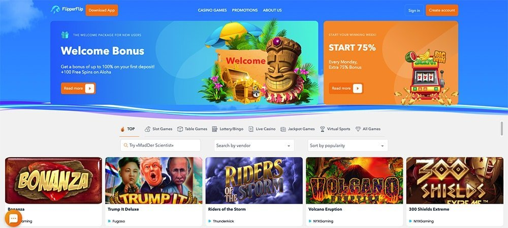 FlipperFlip Casino Review