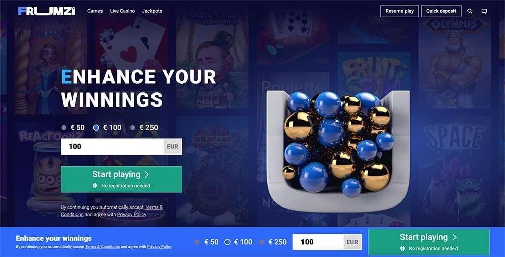 Frumzi Casino Review