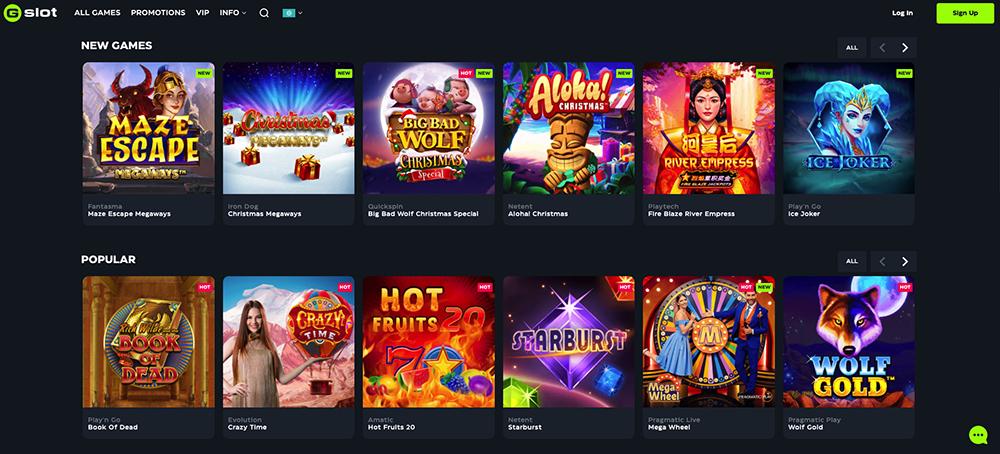 GSlot online-kasino arvostelu