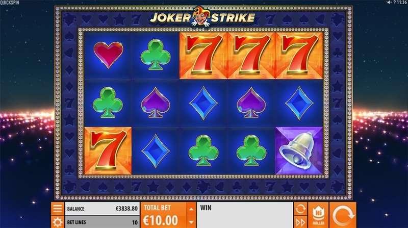 Joker Strike RTP