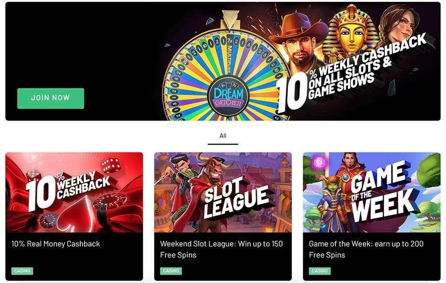 Kto.bet casino promotions