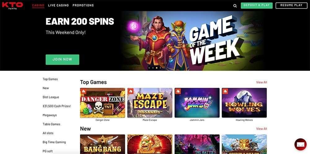 Kto.bet Online Casino Review