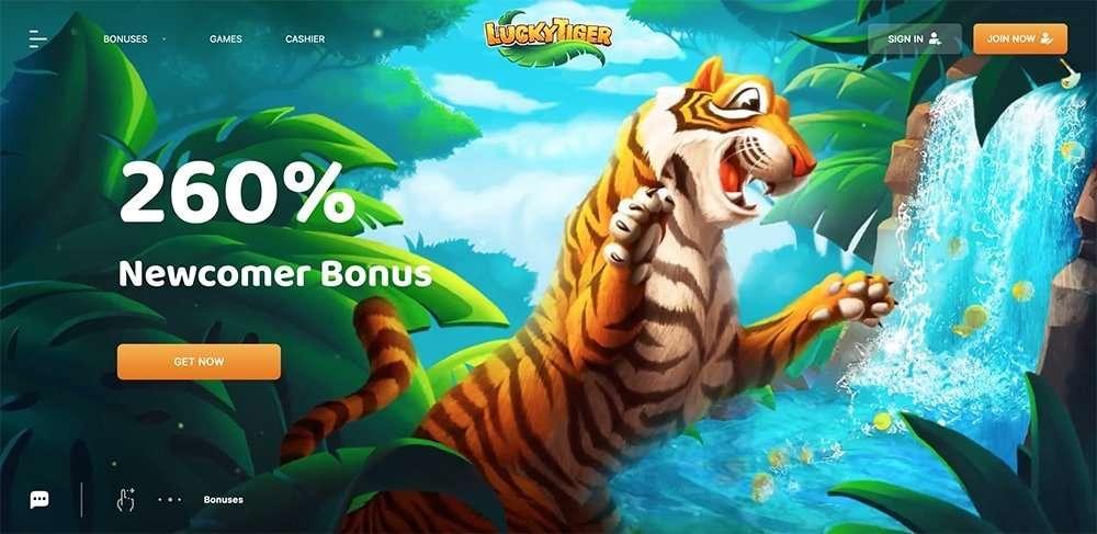 Lucky Tiger Casino arvostelu