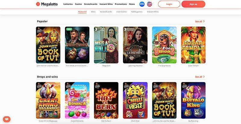 Megalotto Casino Review