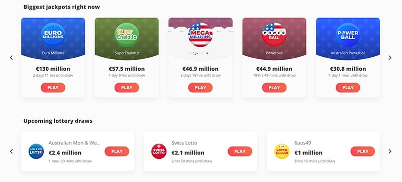 Megalotto Casino Lotteries