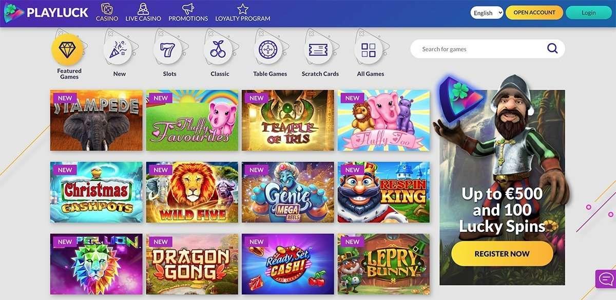 Playluck Online Casino